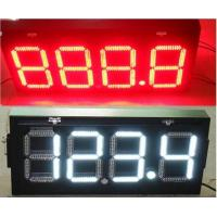 Buy cheap LED gas station petrol price canopy lights sign from wholesalers