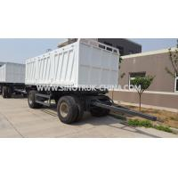 Buy cheap 8 Wheels Van Full Heavy Duty Semi Trailers With High Strength Q345 Steel Material from wholesalers