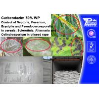 Buy cheap CARENDAZIM 50% WP Plant Fungicide Control Of Septoria , Fusarium , Erysiphe from wholesalers