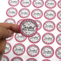 Buy cheap Custom Full Color Printing Sleep Aid Items Scratch And Sniff Sticker Coated Paper from wholesalers