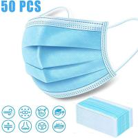 Buy cheap Earloop Disposable Face Mask / Anti Dust Face Mask Surgical Disposable 3 Ply from wholesalers