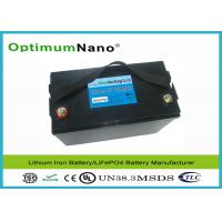 Buy cheap Light Weight 100AH 12V Lithium Battery , Long Life Cycle MSDS LithiumPolymerBatteryPacks from wholesalers