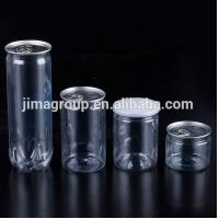 Buy cheap 500ml PET Plastic Food Cans Easy Open Aluminum Cap For Food Candy Nuts from wholesalers