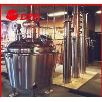 Buy cheap 200 Gallon Home Moonshine Distillation Equipment 3mm Thickness CE from wholesalers