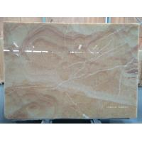 Buy cheap Decorative Yellow Onyx Slabs & Tiles product