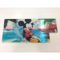 Wholesale Customized Shape Die Cutting PP 3D Lenticular Stickers For Pencil Case ISO9001:2008 from china suppliers