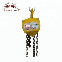 Buy cheap CE GS Certi. Manual Chain Hoist/Block 1T HSZ- CA from wholesalers
