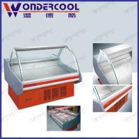 Buy cheap 2M supermarket commercial meat display fridge dry deli refrigerator deli cooler showcase from wholesalers