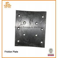 Buy cheap Baoji High Quality API-7K Certification Friction Plate For Pneumatic Clutch from wholesalers