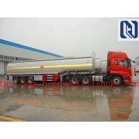 Buy cheap 3 Axles 50000 Liters Fuel Semi Tanker Trailer For Carrying Storing Oil With Gun Pump Flow Meter from wholesalers