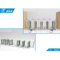 China Indoor Swipe Card Half Height Turnstile , Magnetic Card Turnstile Security Systems on sale