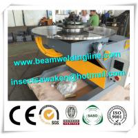 Adjustable Rotary Welding Positioners , Lift Horizontal Revolving Weld Positioner Manufactures