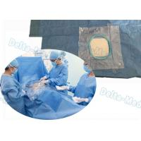 Buy cheap SMMS T Shape Laparotomy Disposable Surgical Packs Integrated Fluid Collection Bag from wholesalers