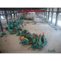 Buy cheap High Frequency Tube Mill Line , Industrial Steel Pipe Making Equipment from wholesalers