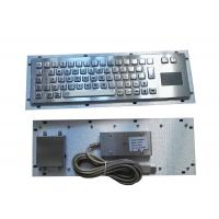 Buy cheap Rugged slim metallic panel mount military keyboard for portable military pc outdoor from wholesalers