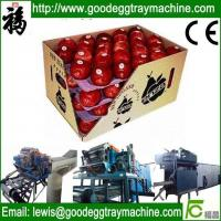 Buy cheap apple fruit tray processing machinery from wholesalers