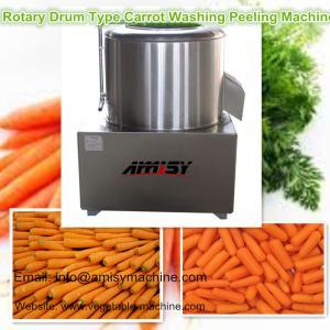 Rotary Drum Carrot Washing Peeling Machine Manufactures