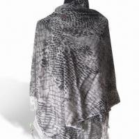 Wholesale Fashionable Shawl in 2011 Fresh Design, Made of Wool, Various Colors are Available from china suppliers