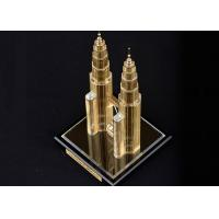 Buy cheap Famous Building Crystal Decoration Crafts , Malaysia Twin Tower Tourism Souvenirs from wholesalers