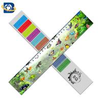 Wholesale Straight 3D Lenticular Ruler For Promotional Gift Stationery Custom Shape from china suppliers