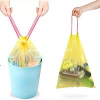 Buy cheap Extra Strong Carry HDPE Garbage Waste Bags with Drawtape from wholesalers