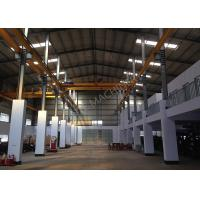 Buy cheap Double Girder Overhead Bridge Cranes Capacity 20Ton Span 14m for Steel processing plant from wholesalers