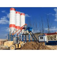 Buy cheap Heavy Weight Ready Mix Concrete Machine , Precise Metering Wet Batch Concrete Plant from wholesalers
