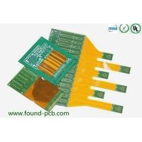 Buy cheap FR4 Rigid Flex PCB Gold Finger / Custom Double Sided Printed Circuit Board from wholesalers