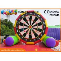 Wholesale Interactive 5m High Inflatable Foot Darts Game / Inflatable Soccer Darts from china suppliers