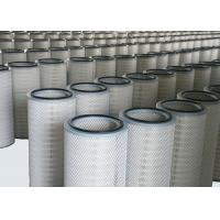 Buy cheap Industrial Cartridge Filters Flame Retardant Polyester PTFE Material Membrane from wholesalers