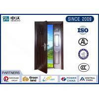 Wholesale Customized Size Gray Fireproof Entry Doors Strong Temperature Resistant from china suppliers