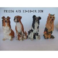 Buy cheap Customized Design Polyresin Figurine Dog Garden Statues With Different Postures from wholesalers