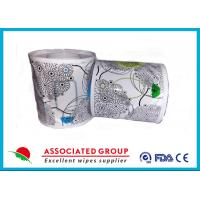 Buy cheap Flushable Wet Wipes Rolls For Household Toilet Use , Slight Scented Wet Wipes from wholesalers