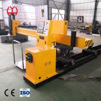 Buy cheap Auto Ignition Fiber Laser Pipe Cutting Machine Electric Adjustable Height Regulating from wholesalers