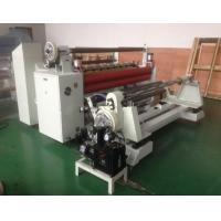Automatic Film Slitting Machine , Release Paper And Craft Paper Slitting Machine Manufactures