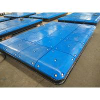 Buy cheap Marine Fendering System Impingement Plate With PE Face Pads , Marine Panels from wholesalers