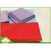 Buy cheap 45gsm TNT SpunBonded Non Woven Table Cloth Recyclable Eco Friendly 1m X 1m from wholesalers