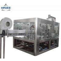 Buy cheap High Efficiency Carbonated Drink Filling Machine For Small PET Bottle 5800kg from wholesalers