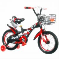 Buy cheap Factory Direct Downhill 12 Inch 4 Wheel Road Kids Bike for 3-10 Years old from wholesalers