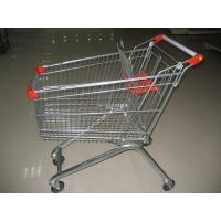 Buy cheap Stainless Steel Shopping Trolley CE Certification With Plastic Handle And Seat from wholesalers