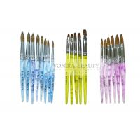 Buy cheap Super Collection Of  Kolinsky Sable Acrylic Nail Brush For Carving And Painting from wholesalers