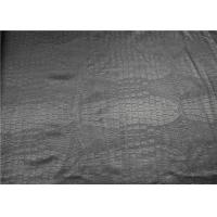 Buy cheap Garment Pvc Faux Leather , Pvc Leather Fabric Crocodile Embossed Design from wholesalers