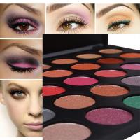Wholesale Private Label Eyeshadow Palette With 35 Foiled Colors , Eye Makeup Eyeshadow from china suppliers