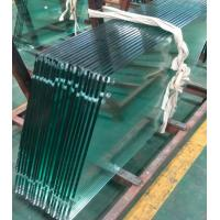 Buy cheap Custom Made Tempered Glass Panels High Security 3300X9000mm 3mm-19mm from wholesalers