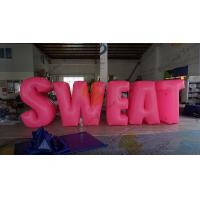 Buy cheap Sweat Characters Inflatable Product Replicas Silk Screen Printing Excellent Design from wholesalers