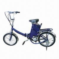 Buy cheap EEC Foldable Electric Bicycle with 36V/12Ah Lead-acid Battery, 250W Motor, 18 Wheels from wholesalers
