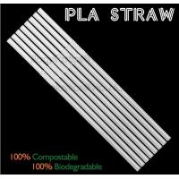 Buy cheap Eco-friendly straw for drinking use, 100% compostable straw, PLA folding drinking straw from wholesalers