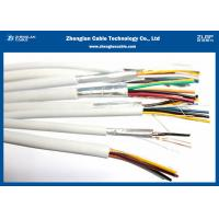 China PVC Insulated Fire Resistant Cables / Twin And Earth House RVS Cable / Rate of Voltage:300/300V on sale
