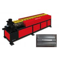 Buy cheap Fire Damper Blade Roll Forming Machine Maximum Processing Speed 15 M/ Min from wholesalers
