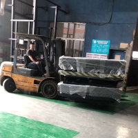 Buy cheap Container Working Platform Ramp 2000*3000mm 4500KG Loading Dock Scissor Lift from wholesalers